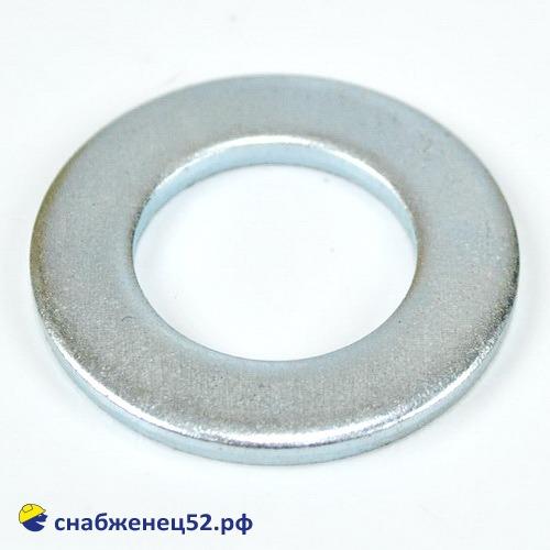 Шайба плоская 20мм (DIN125 Zn)