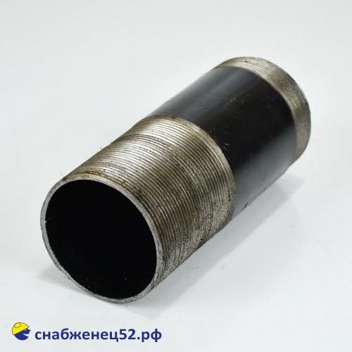 Сгон стальной для трубы ВГП ду 65 (ЭСВ 76 мм)