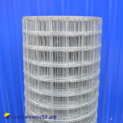 Сетка сварная оцинков. (п.м.) 50х50*1,6мм (1,5*45м)