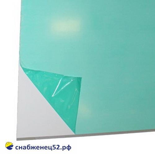 Сэндвич-панель 10мм матовая (толщина пластика 0,45мм), 1,5*3м