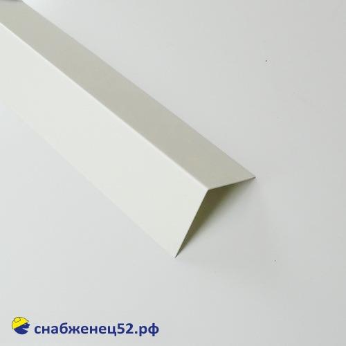 Уголок отделочный из ПВХ 50*50мм в защитной пленке, (3м)