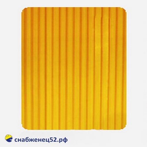 Поликарбонат  4мм оранжевый (ш.2,1м), п.м.