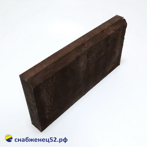 Бордюр полимерпесчаный 500*250*50 коричневый