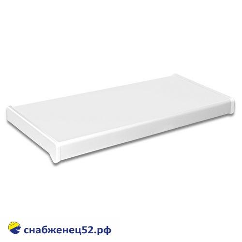 Подоконник ПВХ белый 200мм (пог.метр)