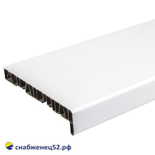 Подоконник ПВХ белый 550мм (пог.метр)