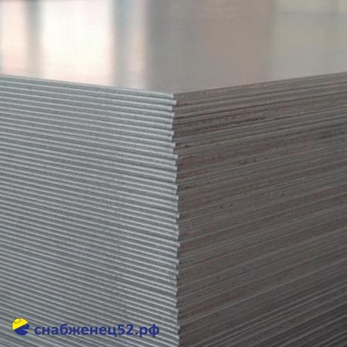 Лист нержавеющий (AISI 430) 3мм (ширина 1,25 м) (п.м.)