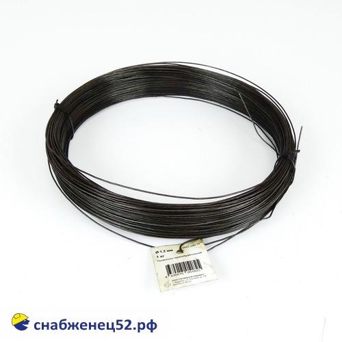 Проволока 1,2 мм (1кг), низкоуглерод. сталь, т/о