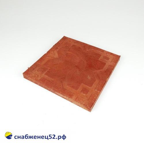 Плитка полимерпесчаная садовая 250*250*20мм красная