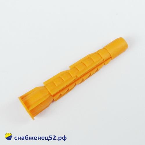 Дюбель пластм. U 8*52 Б (оранж.)