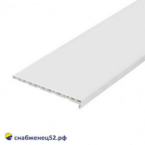 Подоконник ПВХ белый 350мм (пог.метр)