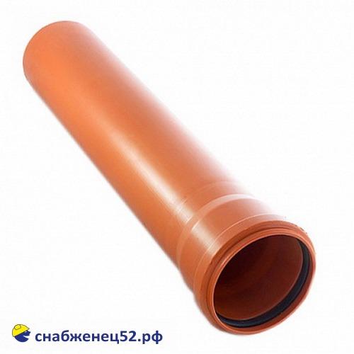 Труба НАРУЖНАЯ Политэк 110*3,4мм (2м)
