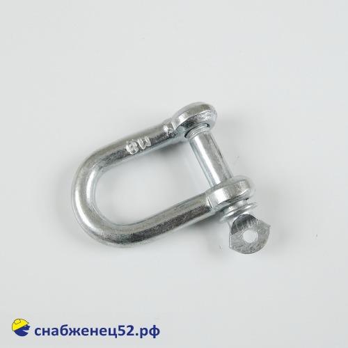 Скоба такелажная (серьга) М 8
