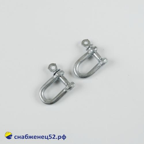 Скоба такелажная (серьга) М 5 (2шт)