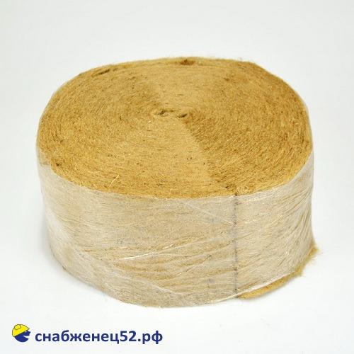 Джут (рыжий цвет) 150мм (толщина 5мм) PL 400 (20м)