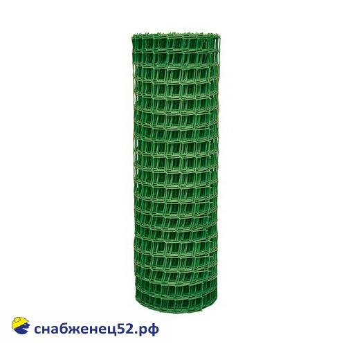 Сетка пластиковая, ячейка квадрат 50*50, зеленая (1*20м) (п.м)
