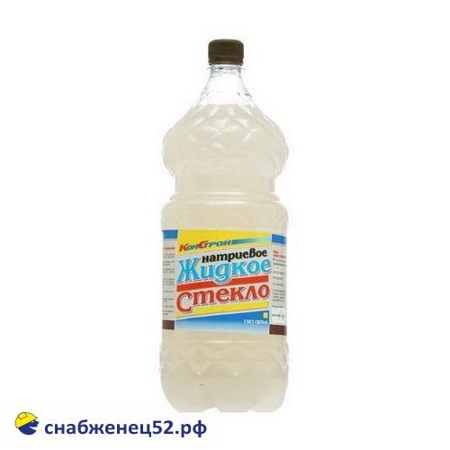 Жидкое стекло натриевое  (1,5кг)