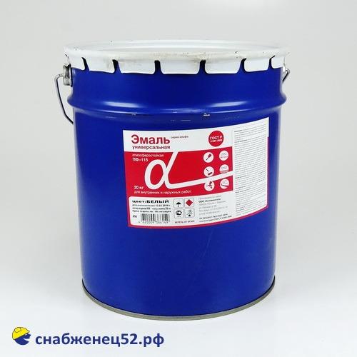 Эмаль ПФ-115 (20кг)