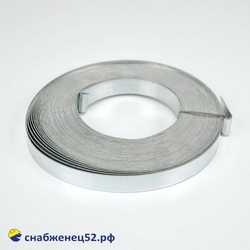 Лента тарная 20 мм (25м*0,4мм) оцинк.