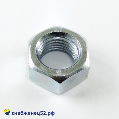 Гайка цинк М22 (DIN 934)