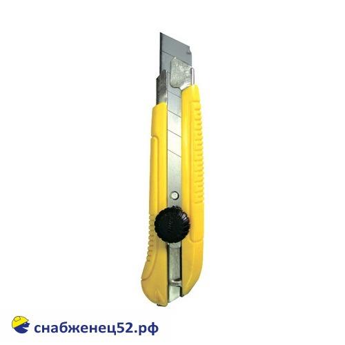 Нож c выдвижным лезвием 25мм