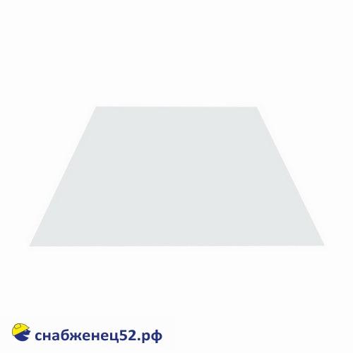 Лист окрашенный 0,35мм RAL9003 (белый) 1250*2000мм